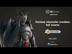Videogame Character Creation Course Monster Mentor - YouTube