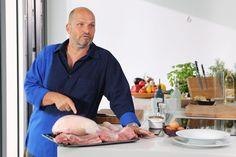 Vyzkoušejte si uvařit některý z receptů Zdeňka Pohlreicha z pořadu Teď vaří šef! Meat Recipes, Cooking Recipes, Sausage, Grilling, Good Food, Pork, Food And Drink, Homemade, Vegetables