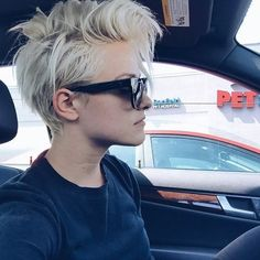 35 Messy Pixie Hairstyle that you will totally adore 35 Messy Pixie Frisur, die Sie total lieben wer Funky Pixie Cut, Edgy Pixie Cuts, Asymmetrical Pixie, Short Beard, Short Pixie Haircuts, Messy Pixie Haircut, Messy Short Hair Cuts, Pixie Haircut Gallery, Messy Bangs