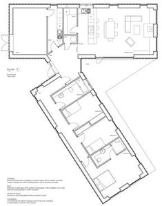 Fine Plan Maison Weather that you must know, You?re in good company if you?re looking for Plan Maison Weather Modern House Floor Plans, Modern House Design, The Plan, How To Plan, Casa Patio, Casas Containers, Shipping Container House Plans, Container House Design, Traditional House