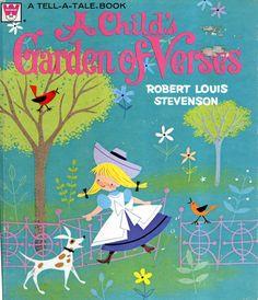 Ruth Ruhman illustrator - A Child's Garden of Verses by Robert Louis Stevenson