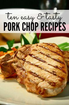 10 easy pork chop recipes