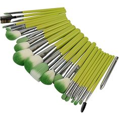 CN CHIC 23Pcs Professional Cosmetic Makeup Make up Brush Brushes For Makeup Set Kit with Bag (Green) * Read more reviews of the product by visiting the link on the image. (This is an affiliate link) #ToolsAccessories