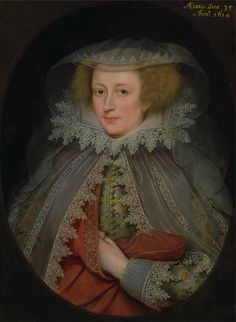 Marcus Gheeraerts the Younger. Catherine Killigrew, Lady Jermyn, 1614