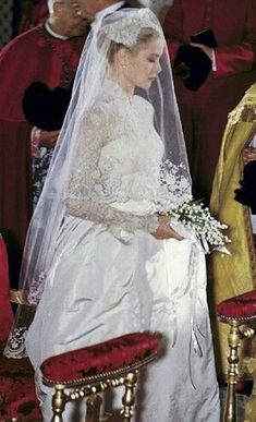 Princess Grace probably didn't know then that every woman after her would want to look like her on her wedding day.