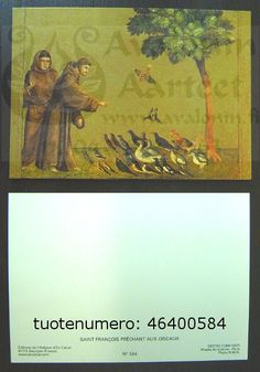Saint François prêchant aux oiseaux
