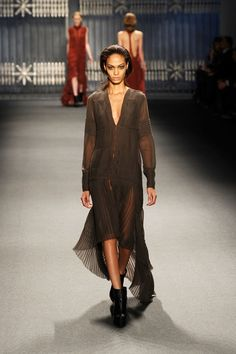 Vera Wang - Runway - Fall 2011 Mercedes-Benz Fashion Week