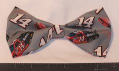 TONY STEWART #14 HAIR BOW - available on therubypig.com