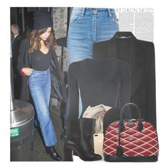 """Selena Gomez leaving a chinese restaurant in Melbourne, Australia."" by gomezrevivals ❤ liked on Polyvore featuring Wrangler, Alexander McQueen, Alaïa, Brunello Cucinelli and Barneys New York"