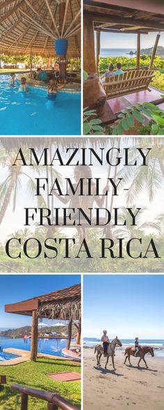 Costa RIca with kids: The Hotel Punta Islita is a perfect option for one-week school breaks, with an excellent beach, pool and included activities.