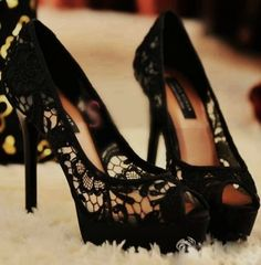 Give me black lace