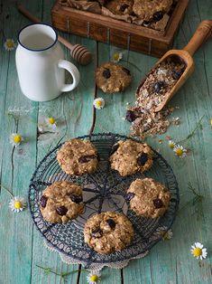 Peanut Butter Muesli Cookies (Galletas de muesli con mantequilla de cacahuete)