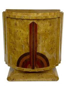 art deco crinkle cabinet chest cupboard vintage furniture