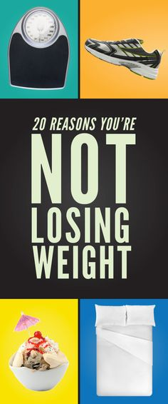Here's Why You're Not Losing Weight