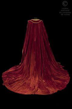 Costume designed by Marcel Escoffier for Maria Callas in the Paris Opera's 1964 production of Vincenzo Bellini's Norma