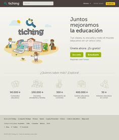 Gadgets: Punto de encuentro de la comunidad educativa: Tiching