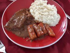 Recette: Côtelettes de porc au four. Pork, Nutrition, Ethnic Recipes, Cooker Recipes, Oven Pork Chops, White Rice, Mom, Food, Kale Stir Fry