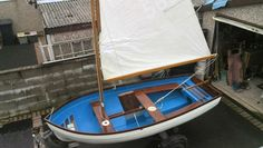Boat, galvanised trailer, 4 stroke outboard and sail kit For Sale in Morecambe, Lancashire | Preloved