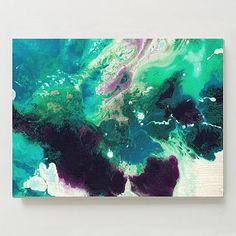 Magnetic I Print - West Elm  A splash of color? :-)  Works in Living Room above fireplace or Kitchen
