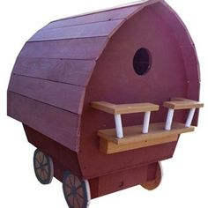 Gypsy Wagon Birdhouse Woodworking Plan by Paul Anderson