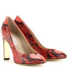 c7cefe0da227 OPLIN SNAKE PRINT PUMPS by Stella McCartney Pump It Up