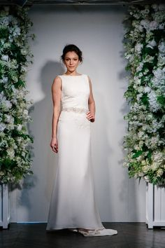 Somewhere Only We Know Stewart Parvin Bridal Gown | http://www.rockmywedding.co.uk/fashion-pack/bridal-gowns/stewart-parvin/stewart-parvin-2016-collection/