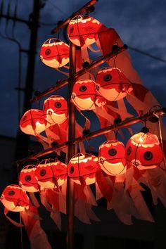 金魚ちょうちん祭り