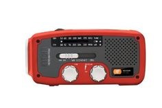 """Etón FR160R Microlink Self-Powered AM/FM/NOAA Weather Radio with Flashlight, Solar Power and Cell Phone Charger (Red) with Mini Tool Box (fs) by Eton Weather Radios. $180.00. Self-Powered AM/FM/NOAA Weather Radio with Flashlight, Solar Power, and Cell Phone Charger.  Comes with Mini Tool Box. Great for storing any miscellaneous items or your spare change.  Overall dimensions: 4 1/2"""" x 2 1/2"""" x 2 3/4"""".  Mini Tool Box is shipped from a separate warehouse and wi..."""