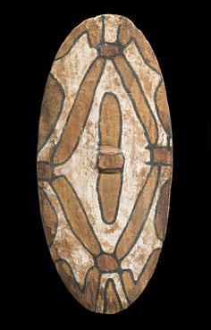A Rainforest Shield, North East Queensland natural earth pigments on carved hardwood Length: Aboriginal Culture, Aboriginal People, Earth Pigments, Aboriginal Painting, Shield Design, Indigenous Art, Hand Art, Ocean Art, Sacred Art