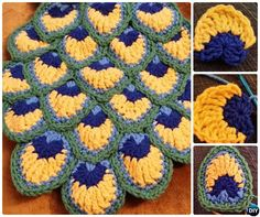 Crochet Peacock Feather Free Pattern-10 Crochet Peacock Projects Free Patterns