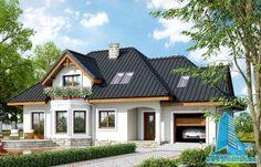 Proiect de casa cu parter, mansarda si garaj pentru un www.