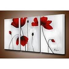 Create a beautiful conversation piece with this canvas art set. The hand-painted 'Flowers' set is gallery wrapped and stretched for a complete and professional look. Diy Canvas, Canvas Wall Art, Multi Canvas Painting, Create Canvas, Bathroom Art, Belle Photo, Painting Inspiration, Diy Art, Flower Art