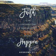 #faith #hebrews 11 v1 #glword