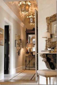 fabulous hallway #entryway hall, corridor, entrance décor, #decorating lobby design, console, flooring, #interior design