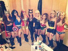 Disney princesses as superheroes: Halloween costume ideas