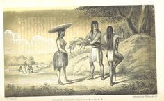 """Mojave Indians, Image taken from """"Report of an expedition down the Zuni and Colorado Rivers by Captain L. Sitgreaves"""" from 1853"""