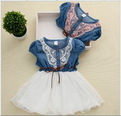 Girl Denim Summer Dress //Price: $17.00 & FREE Shipping // #‎kid‬ ‪#‎kids‬ ‪#‎baby‬ ‪#‎babies‬ ‪#‎fun‬ ‪#‎cutebaby #babycare #momideas #babyrecipes  #toddler #kidscare #childcarelife #happychild #happybaby