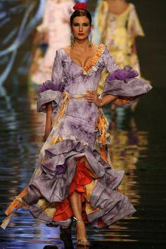 Flamenco dresses fashion show