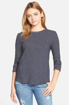 cupcakes+and+cashmere+'Venice'+Striped+Tee+(Nordstrom+Exclusive)+available+at+#Nordstrom