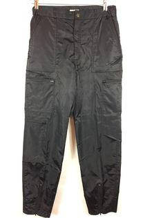 parachute pants vintage 80 s bugle boy men s size 33 long red