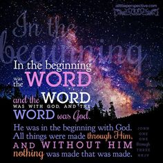 He is the creator!!