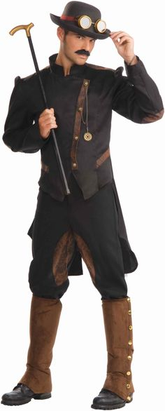 steampunk clothing | Male Steampunk Clothing
