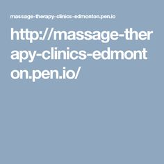 Publish an article online Massage Therapy, Calgary, Clinic, Massage