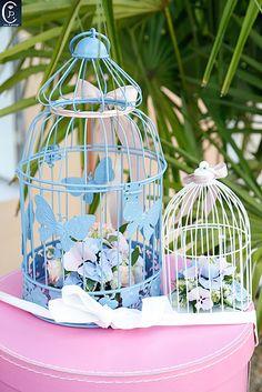 Décoration du mariage de Lamia et Steve   en rose et bleu !