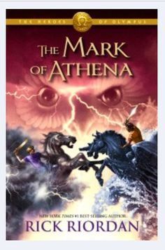 Mark of Athena by Rick Riordan- the latest in the Heroes of Olympus series from the author of Percy Jackson. Magnus Chase, Rick Riordan Bücher, Rick Riordan Books, Mark Of Athena, Heroes Of Olympus Characters, Albin Michel Jeunesse, Son Of Neptune, The Lost Hero, Olympus Series