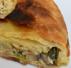 Gyro Pita, The Kitchen Food Network, Spanakopita, Tasty Dishes, Healthy Recipes, Savoury Recipes, Food Network Recipes, Tart, Stuffed Mushrooms