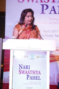FOGSI launched Nari Swasthya Pahe, a women's health initiative.  The campaign was supported by Global Health Strategies.