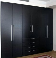 Built-in Closets - contemporary - closet organizers - miami - Dayoris Custom Woodwork Wardrobe Interior Design, Wardrobe Door Designs, Wardrobe Design Bedroom, Bedroom Furniture Design, Wardrobe Doors, Modern Bedroom Design, Closet Designs, Furniture Ideas, Modern Wardrobe Designs