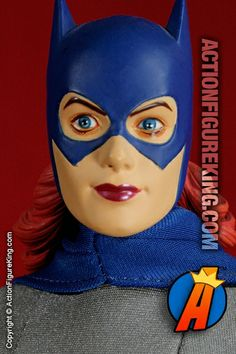 Batgirl Classic 1/6th Scale Deluxe Collector Figure. This is the more common version of this Batgirl action figure from DC Direct. Supposedly there's a variant with rooted hair (or more accurately a rooted ponytail).
