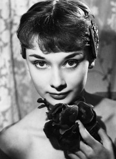 Audrey Hepburn photographed by Angus McBean, 1950.